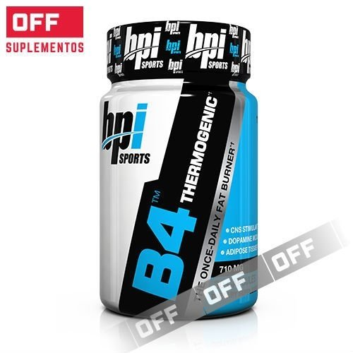 B4 THERMOGENIC 30 CAPSULAS. Bpi Sports.