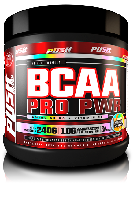 BCAA PRO POWDER 240GRS - PUSH ENERGY