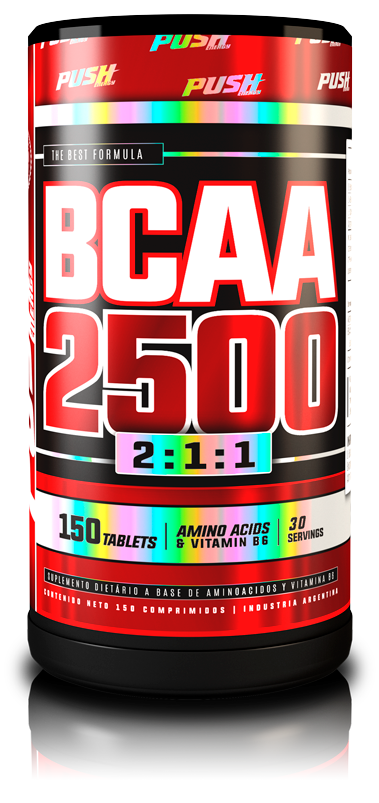 BCAA 2500 150 comp - Push Energy