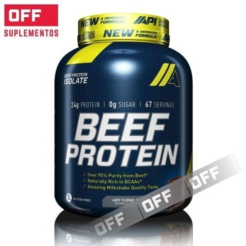 BEEF PROTEIN - 4LBS - API (GLUTEN FREE)