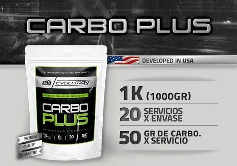 CARBO PLUS 1KG - STAR NUTRITION - comprar online