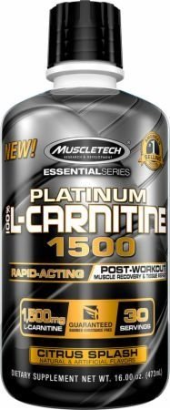 PLATINUM L CARNITINA 1500 18 OZ LIQUID - MUSCLETECH
