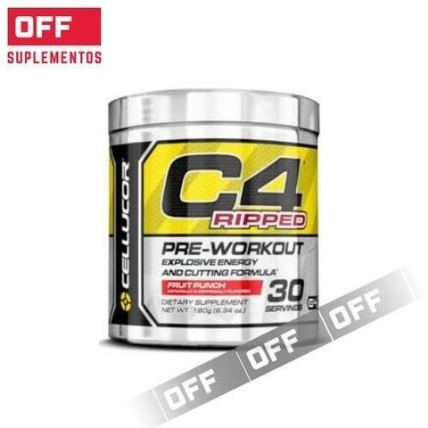 C4 RIPPED 180 Grs. (30 Servicios) - CELLUCOR