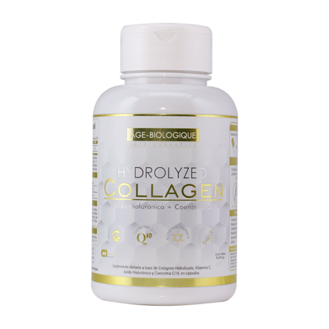Hydrolyzed Collagen en Capsulas - Age Biologique