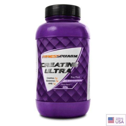 CREATINA ULTRA  220Grs - FITNESS PHARM