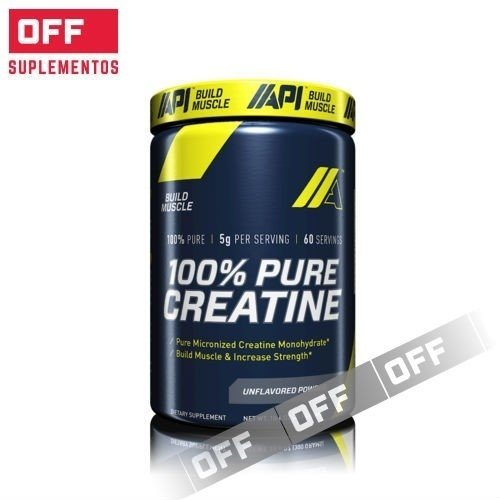 100% PURE CREATINA X 300GRS - API