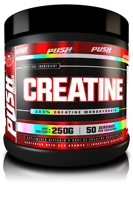 CREATINA 250GRS - PUSH ENERGY