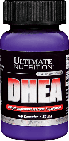 DHEA 50MG 100 TABS. - ULTIMATE NUTRITION