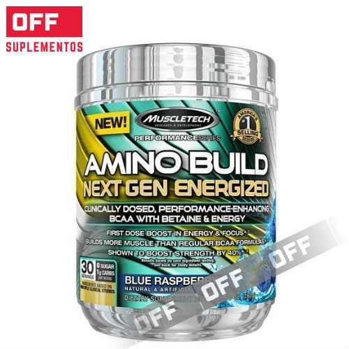 AMINO BUILD NEXT GEN ENERGIZED - 30SV - MUSCLETECH