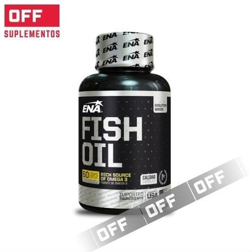 FISH OIL - 60 CAPS. -  ENA SPORT