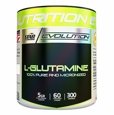 L- GLUTAMINE 300 Grs - STAR NUTRITION