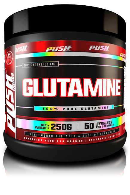 GLUTAMINA 250GRS - PUSH ENERGY
