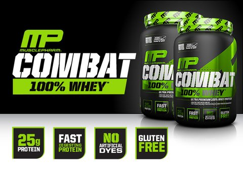 COMBAT 100% WHEY 2 LBS - MP - comprar online