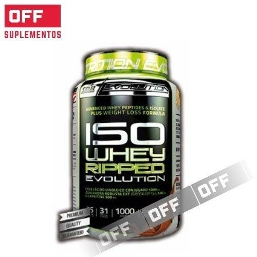 ISO WHEY RIPPED - 6 UNIDADES DE 1 KG - STAR NUTRITION