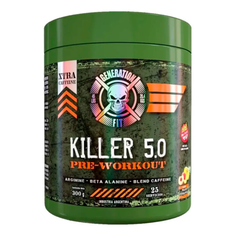 Killer 5.0 Pre Workout 25srv - Generation Fit