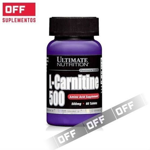 L-CARNITINA 500 60 Caps - ULTIMATE NUTRITION