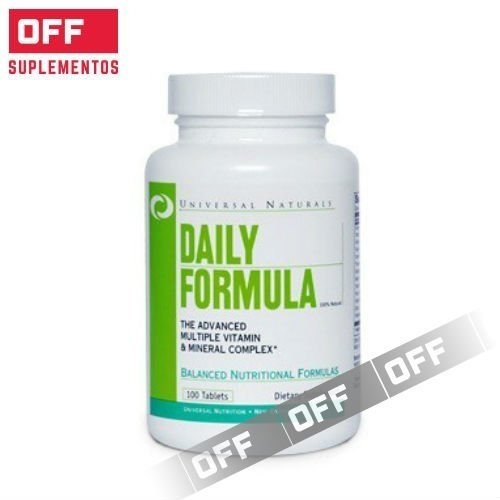 DAILY FORMULA - 100 CÁPS. -UNIVERSAL  NUTRITION