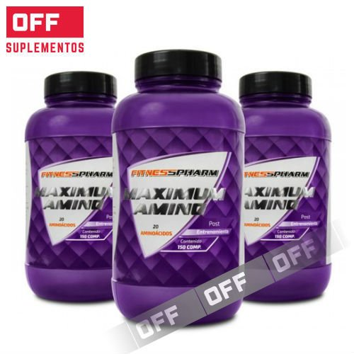 MAXIMUM AMINO - 150 COMPRIMIDOS - FITNESS PHARM