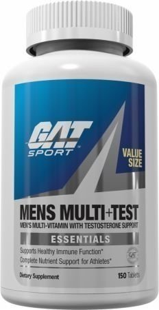 MEN`S MULTI+TEST ESSENTIAL x 150Caps - GAT