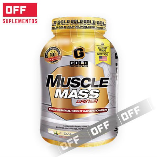 MUSCLE MASS GAINER - 3,3LBS - GOLD NUTRITION