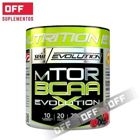 MTOR BCAA EVOLUTION - 290Grs - STAR NUTRITION
