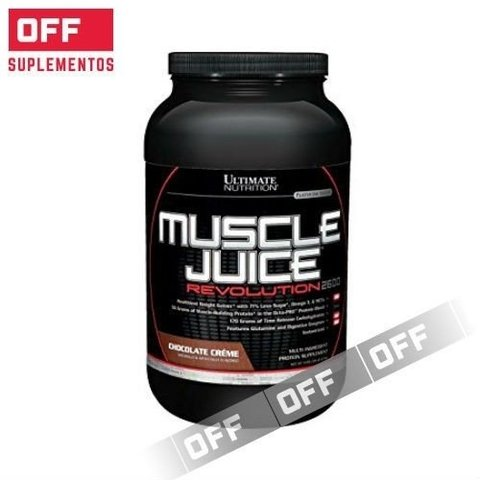 MUSCLE JUICE REVOLUTION 2600  2.12kg - ULTIMATE NUTRITION