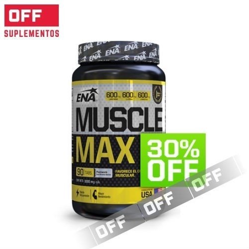 MUSCLE MAX 30% OFF - 270 TABS - ENA SPORT