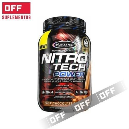 NITRO TECH POWER - 2 LBS - MUSCLETECH