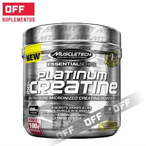 PLATINUM CREATINA - 400GRS - 80 SV - MUSCLETECH