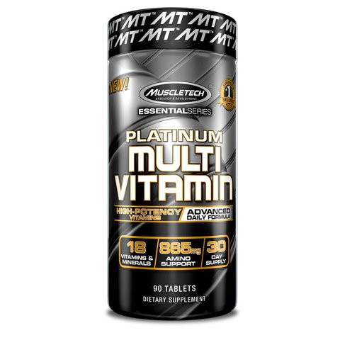 PLATINUM MULTIVITAMIN 90 Tabs - MUSCLETECH