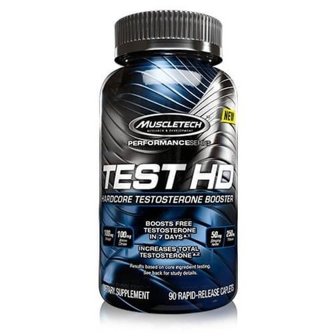 TEST HD TESTOSTERONE BOOSTER 90 Caps - MUSCLETECH