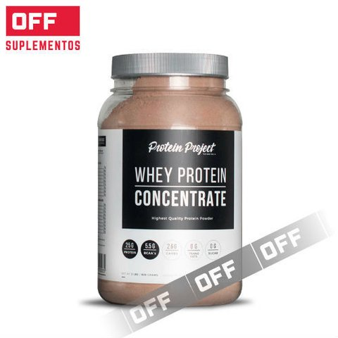 WHEY PROTEIN CONCENTRATE 2LBS - PROTEIN PROJECT