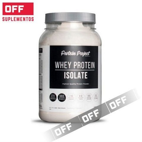 Whey Protein Isolate 2Lbs - Protein Project