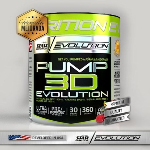 PUMP 3D EVOLUTION 360 Grs - STAR NUTRITION