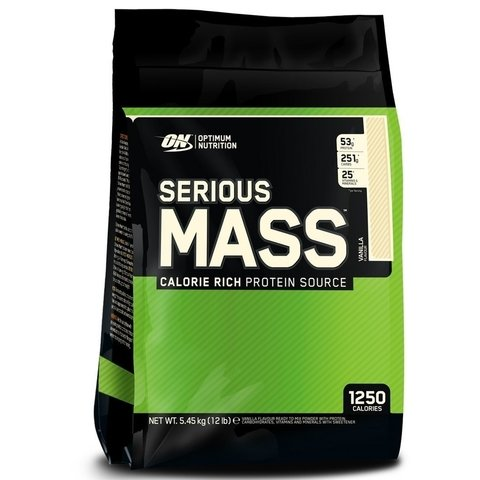 SERIOUS MASS 12 Lbs - ON