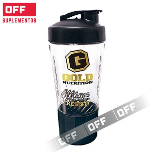 SHAKER ELITE - 550 ML - GOLD NUTRITION