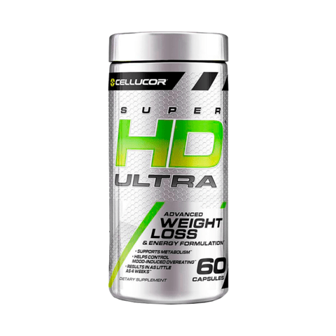 SUPER HD Ultra 60 caps - CELLUCOR