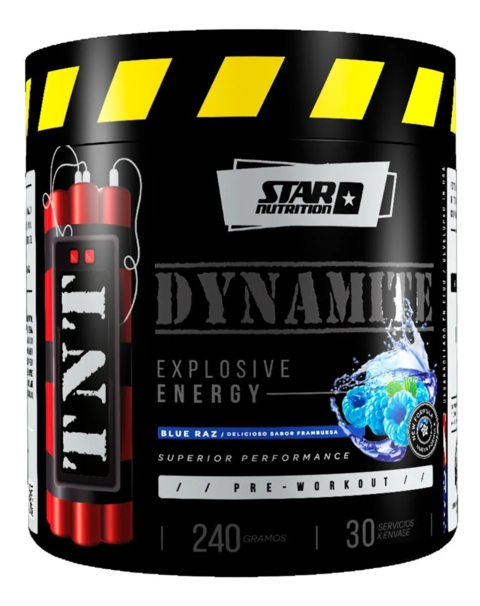 Tnt Dynamite 240g Star Nutrition Explosive Energy Preworkout en internet
