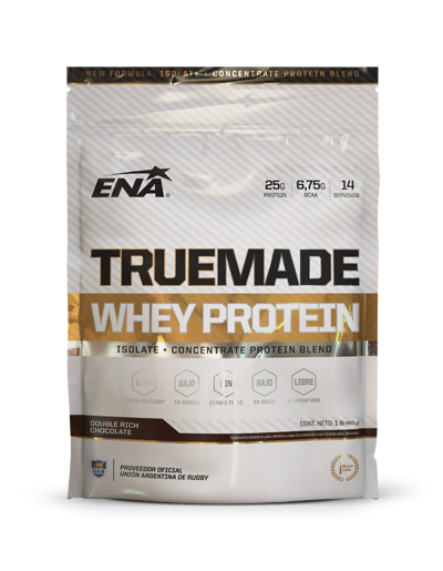 WHEY PROTEIN TRUE MADE 1LBS - ENA SPORT