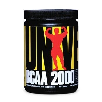 BCAA 2000 120 Caps - UNIVERSAL NUTRITION