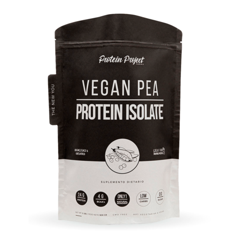 VEGAN PEA PROTEIN ISOLATE 2LB - PROTEIN PROJECT