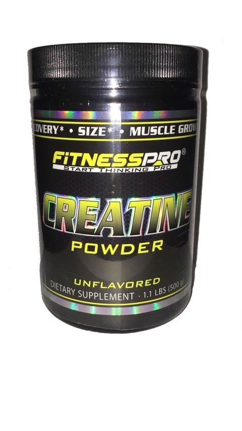CREATINA POWDER 500 Grs - FITNESSPRO