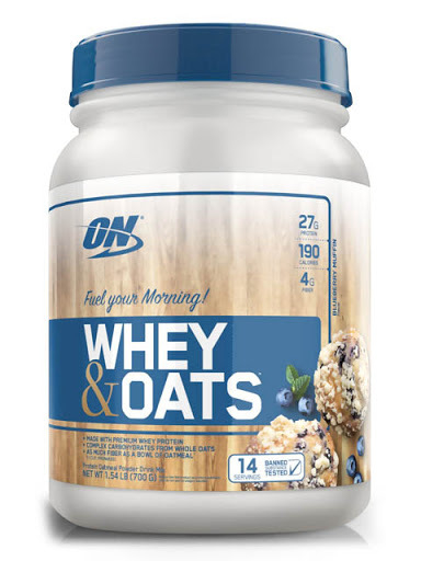 Whey & Oats 1,54lbs - ON