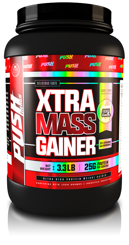 XTRA MASS GAINER 3,3LBS - PUSH ENERGY