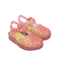 Mini Melissa Possession Baby - Rosa Glitter Amarelo