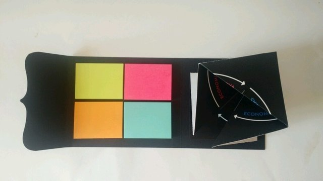 Porta Post-its e matriz 4D - comprar online