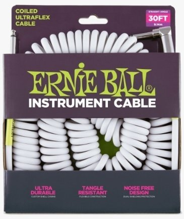 Cable Rulo Ernie Ball Ultraflex 6045 Plug Recto/Angular 9 Metros
