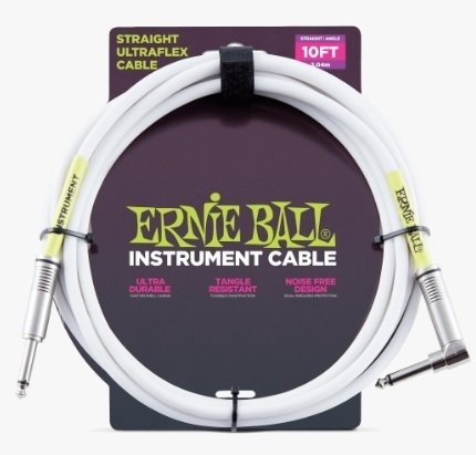 Cable Ernie Ball Ultraflex 6049 Plug Recto-Angular 3 Metros