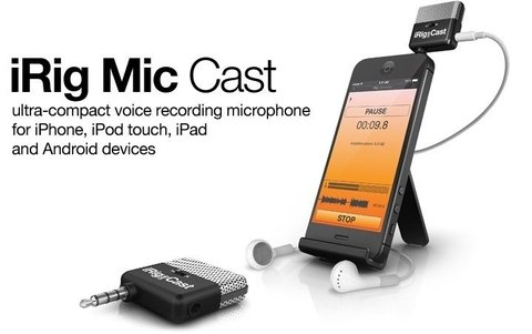 Ik Multimedia IRIG MIC-CAST