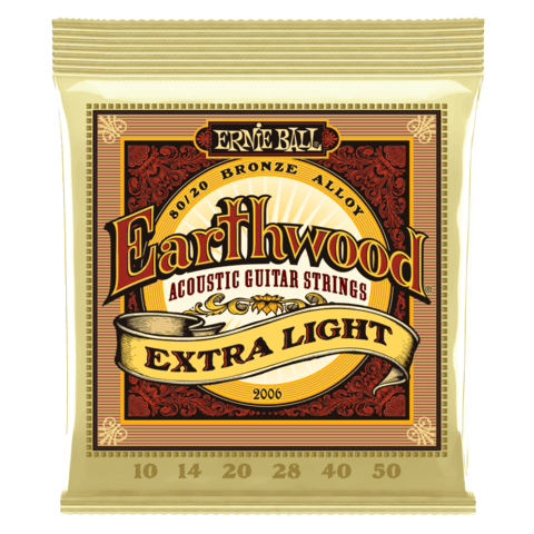 Enc. Ernie Ball Earthwood 2006 010-050